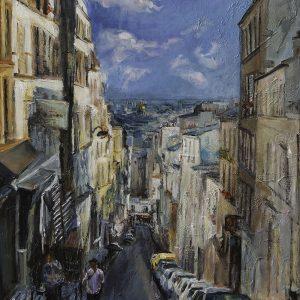 רחוב במונמרטר