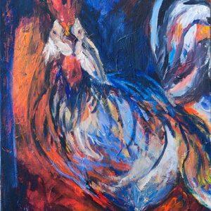 התרנגול בשחר