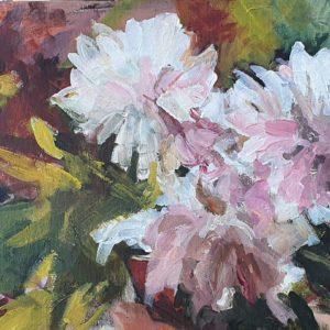פרחים מופשט